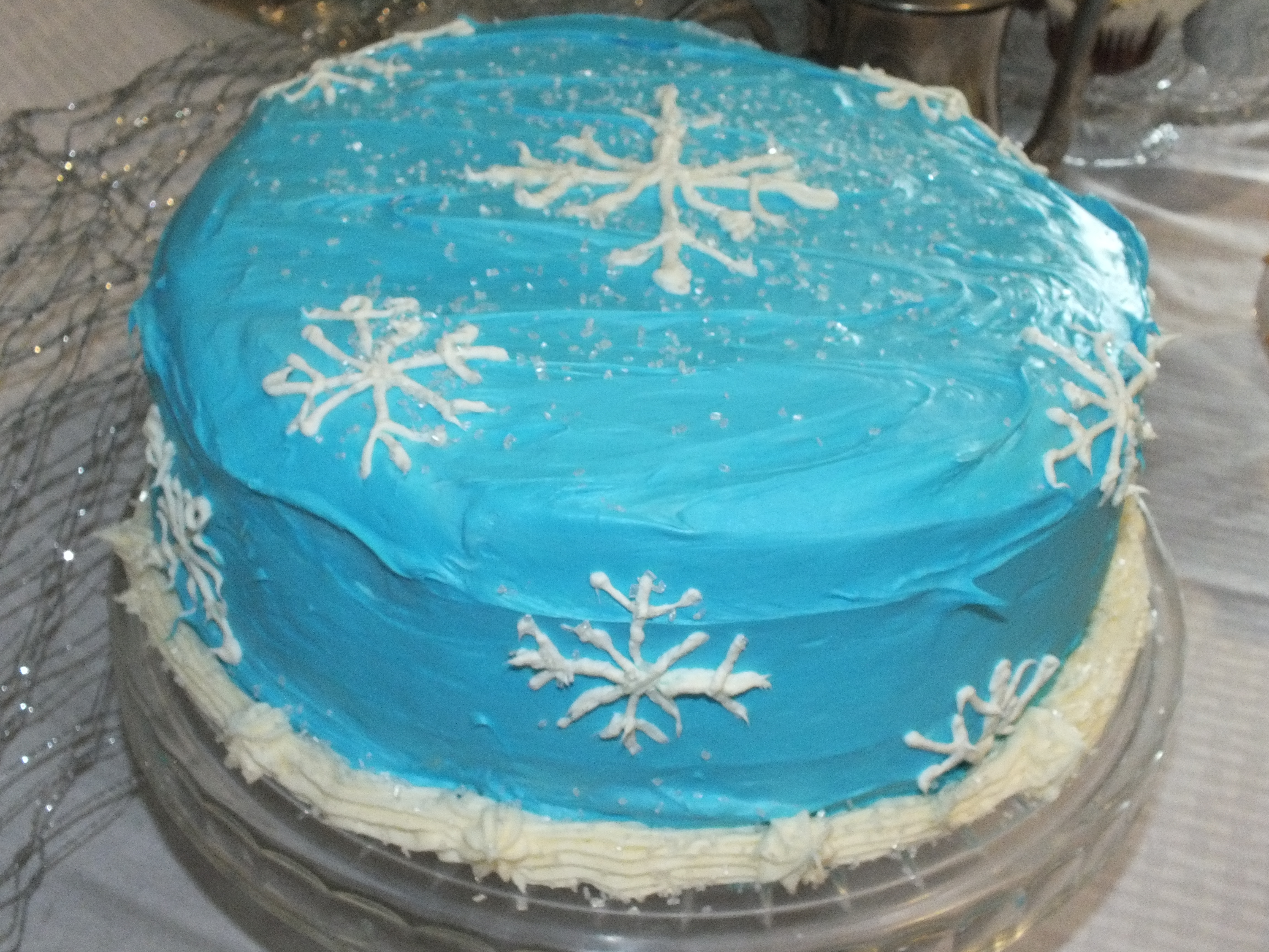... The Perfect Balance Of Sweet And Tart With An Icy Cake on Pinterest